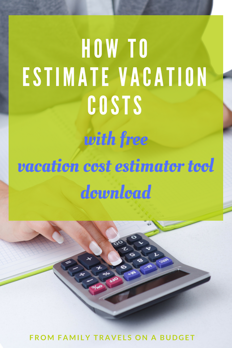 How To Estimate Travel Expenses