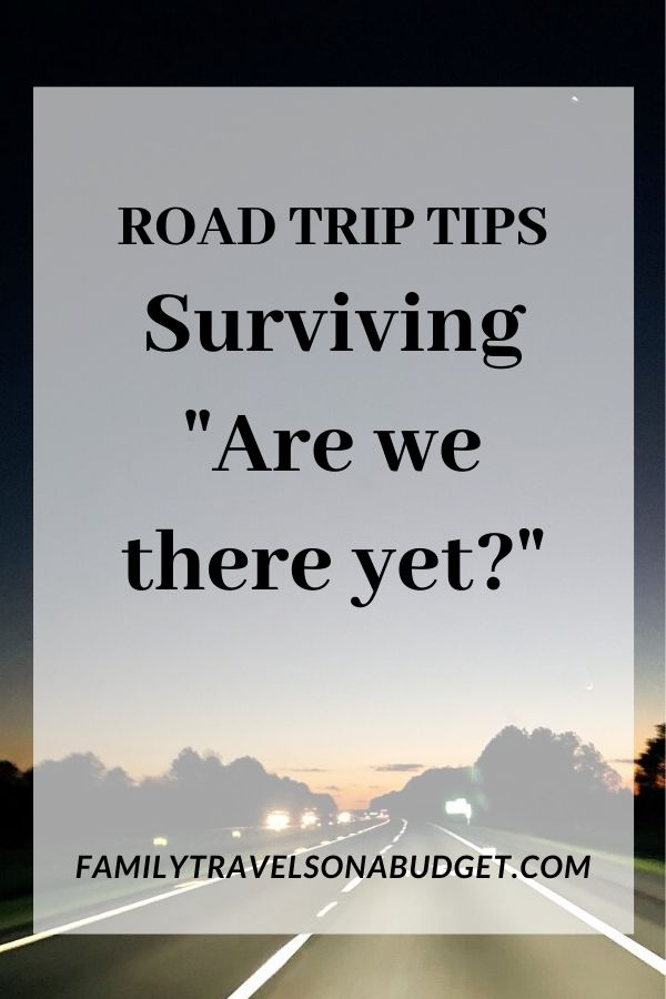 Going on a roadtrip? These tips for family road trips make it easy to plan! Our road trip tips include things like when to take breaks, best snacks for the car, essentials to keep kids from getting bored, and even road trip tips to get you off the interstate! via @karendawkins