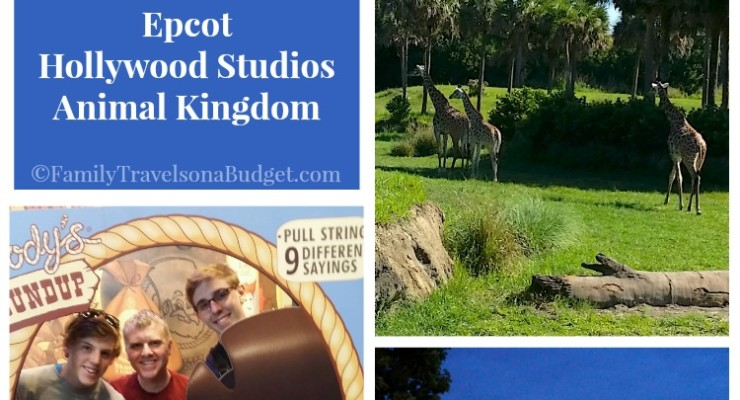 How to guide for Epcot, Hollywood Studios and Animal Kingdom