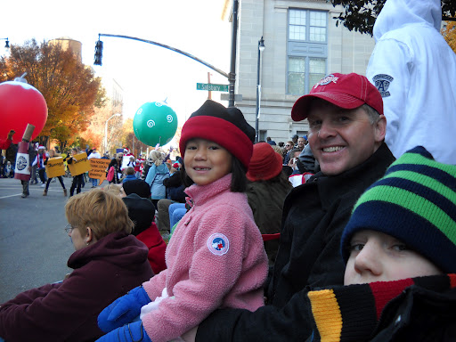 Staycation fun! Catch a local parade.