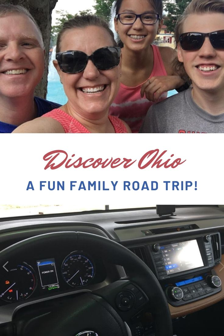 Take a road trip through Ohio's major cities (Cleveland, Columbus and Cincinnati) to discover Ohio's amazing history, rich culture and great food. Fun attractions make it great for family road trips. See the Cleveland Zoo, Rock 'n Roll Hall of Fame, Columbus Zoo, Zoombezi Bay Water Park, the National Underground Railroad Freedom Center, COSI, Kings Island and much more! This post includes where to stay, things to do for history, adventure, family fun and foodie trips to make it what you want! via @karendawkins