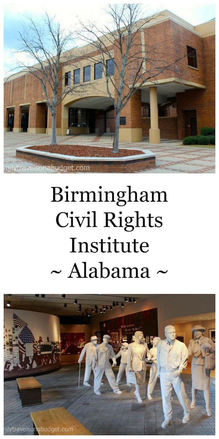 The Birmingham Civil Rights Institute chronicles the Civil Rights movement through compelling exhibits, a civil rights timeline and individual stories. Part of the Birmingham Civil Rights Monument district, it shares a pivotal point in US history. #birminghamcivilrightsmuseum #civilrightsmusuem #civilrightstimeline #birminghamalabamahistory #thingstodoinbirminghamalabama #16thstreetbaptistchurch #kellyingrampark #museums #historymuseums #marinlutherkingjr #rosaparks via @karendawkins