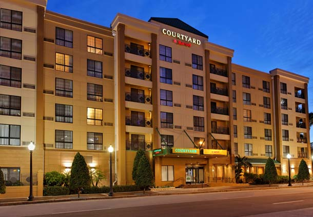 Courtyard Marriott Downtown Family Travels On A Budget