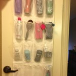 How to: Travel Bathroom Organization