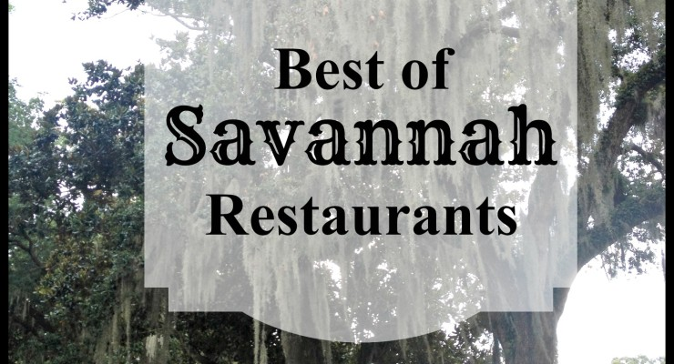Best places to eat in Savannah