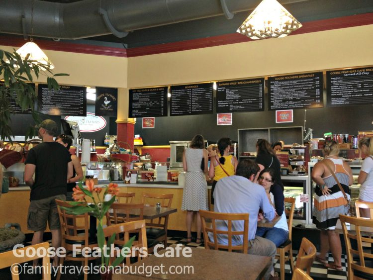 Goose Feathers Cafe serves the best breakfast in Savannah, Georgia