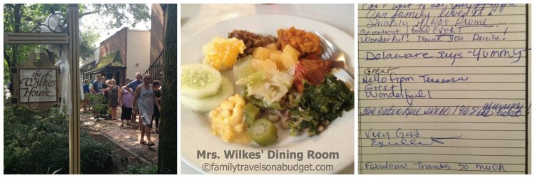 Southern cuisine, served family style, is the specialty at Mrs. Wilkes' Dining Room