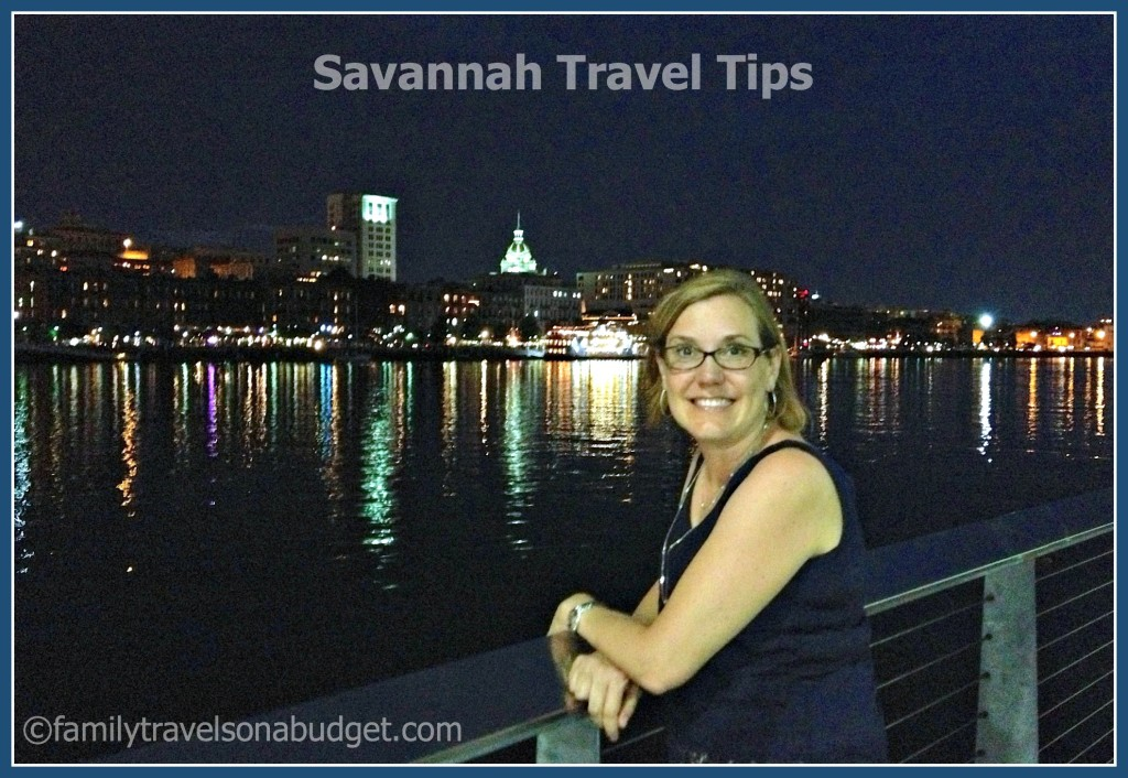 savannah travel tips