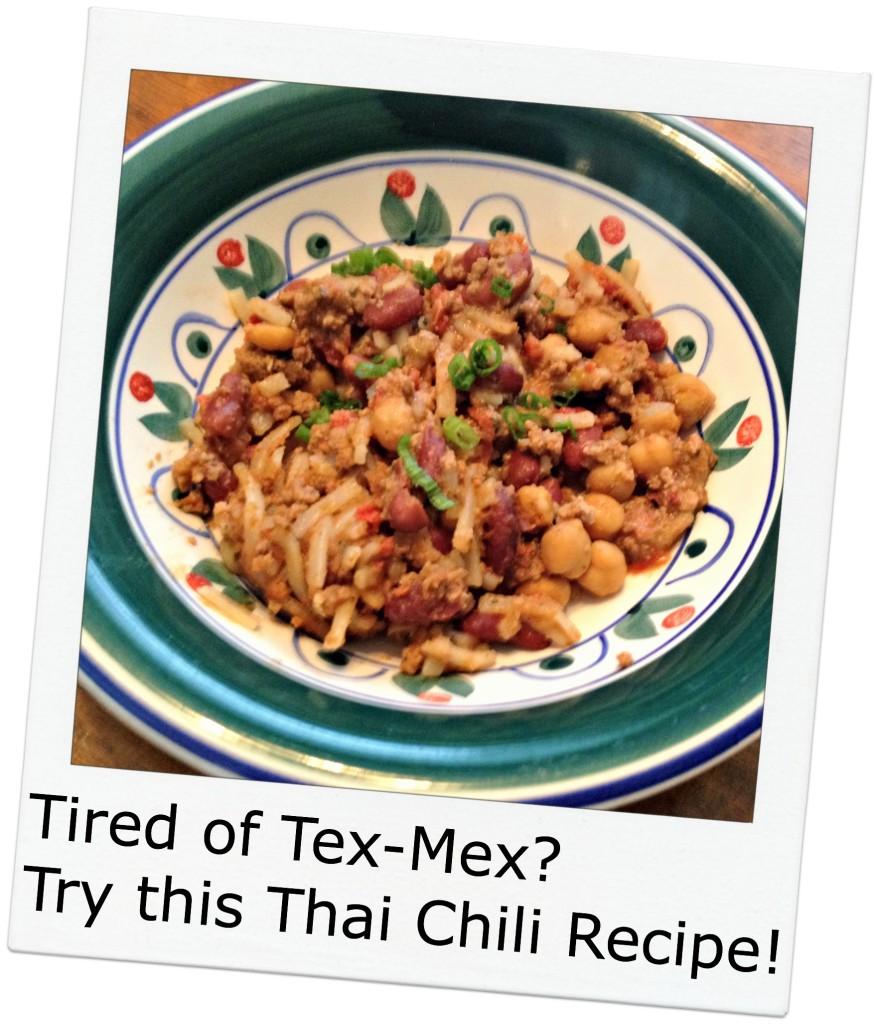 thai chili recipe