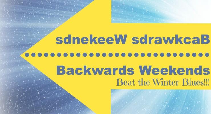 Simple Staycation Idea: Backwards Weekend