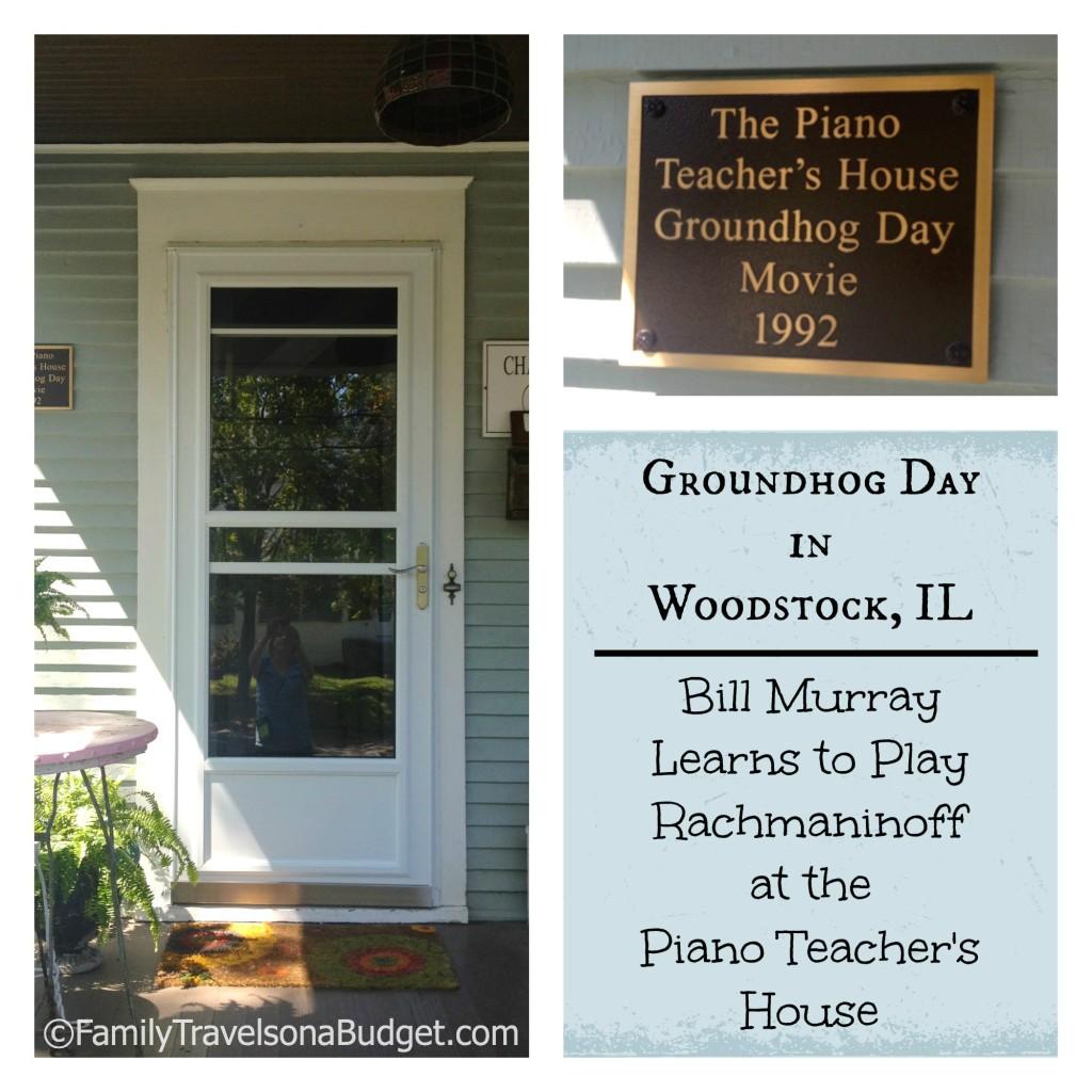 Groundhog Day Piano House