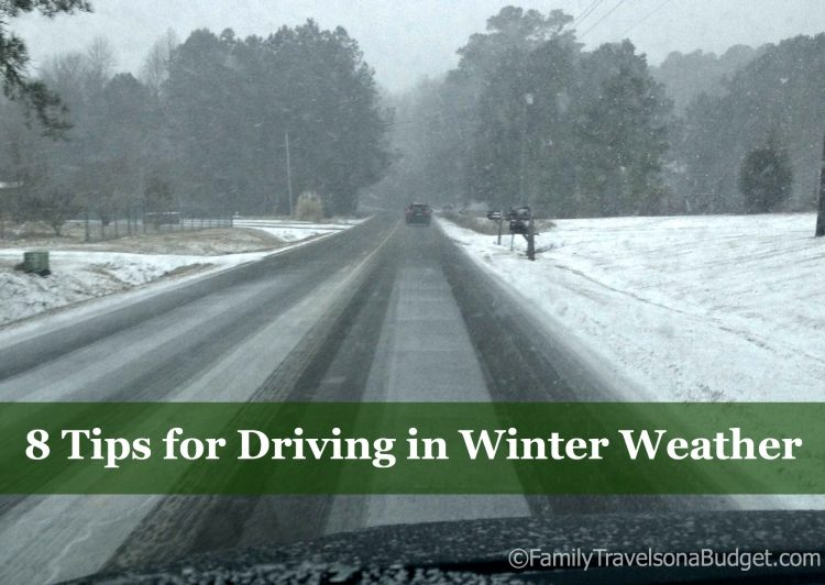 8 Tips for Winter Driving