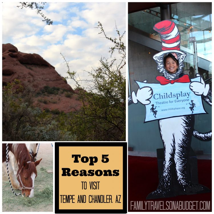Top 5 Reasons to Visit Tempe AZ (and Chandler too)