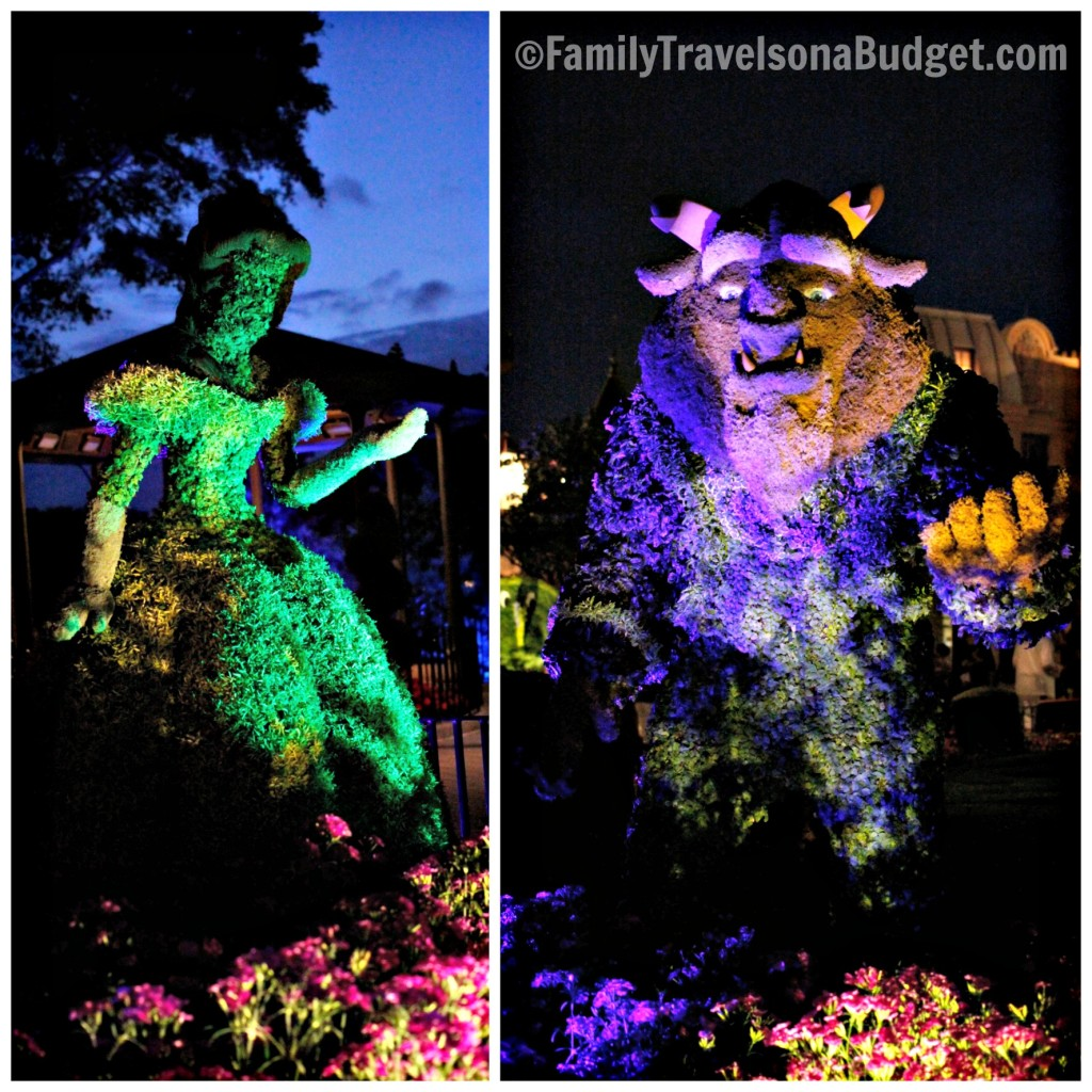 Epcot Flower and Garden Festival Night