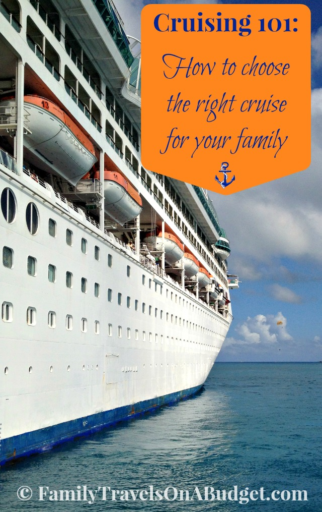 How to choose the right cruise