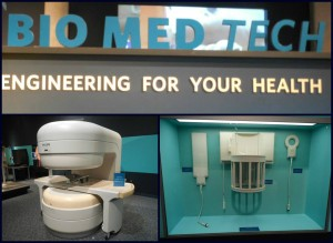 Bottom left: MRI machine (please do not touch!) Bottom right: Some other medical equipment.