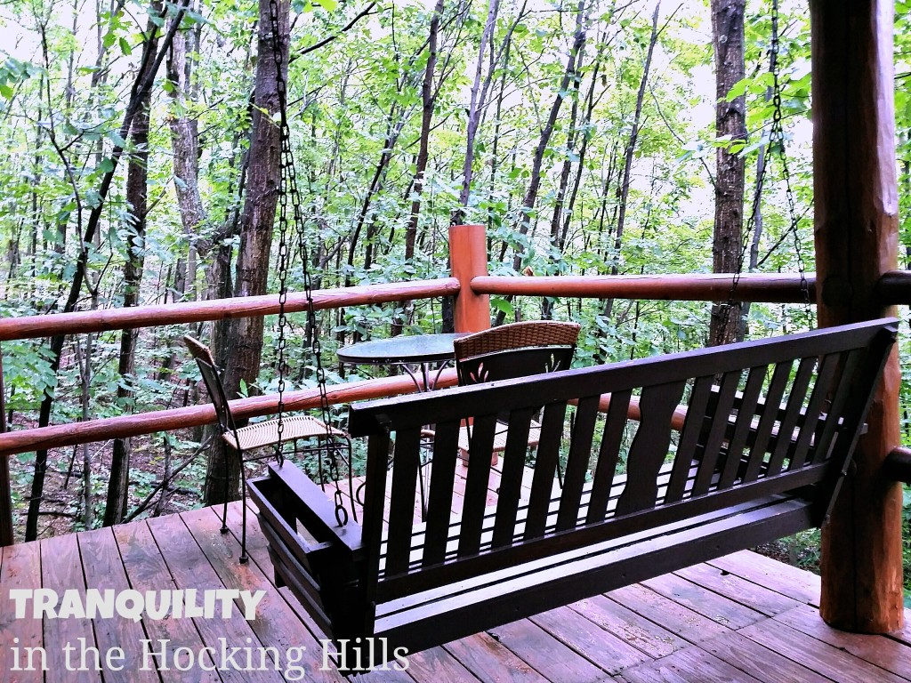 Hocking Hills Cabins Swing