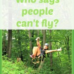 Who says people can't fly?