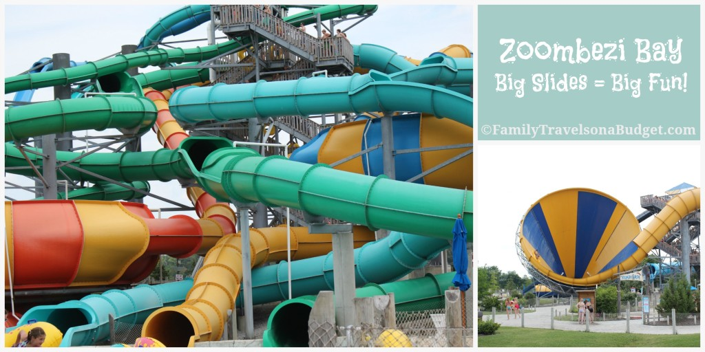 Zoombezi Bay Big Slides