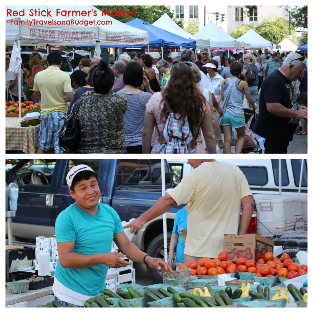 Red Stick Farmers Market Crowds