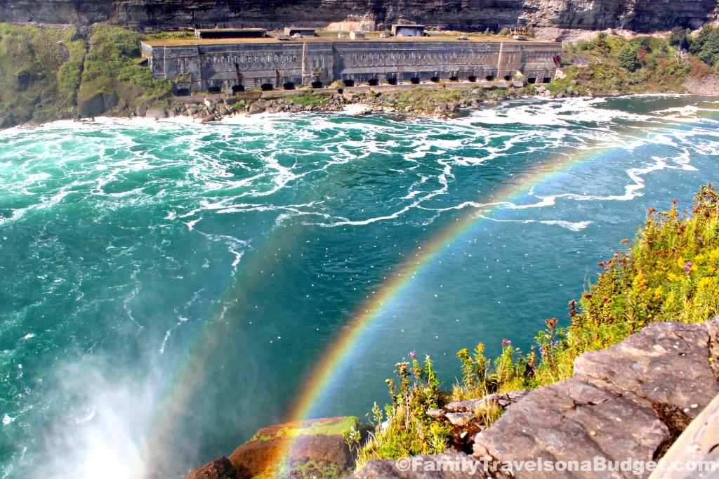 #NiagaraFallsUSA Double Rainbow