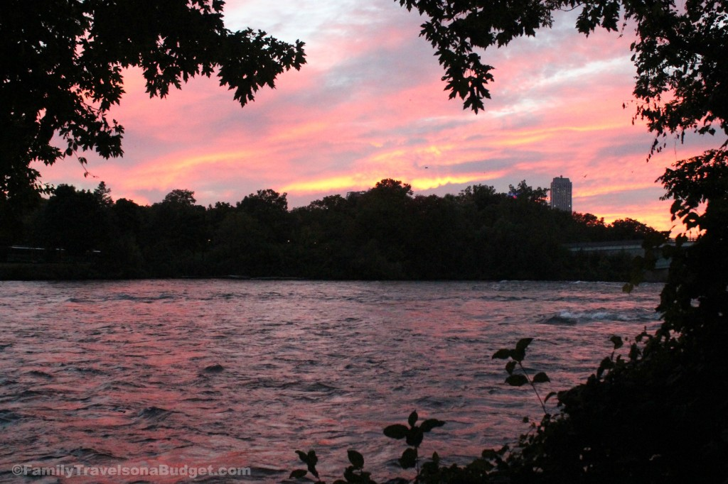 #NiagaraFallsUSA Sunset Unedited