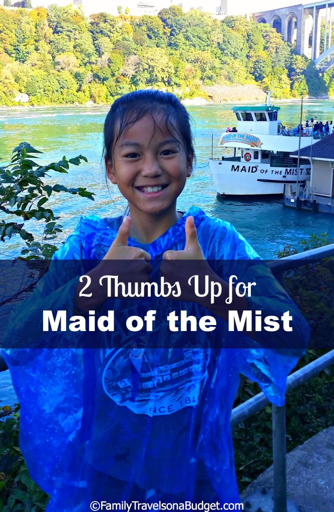 Maid of the Mist at Niagara Falls is a must do for families. A leisurely boat ride takes you close to the falls, where you're sure to get wet! It's an amazing adventure! Includes money saving tips!!! #niagarafallsmaidofthemist #maidofthemist #niagarafalls #niagarafallsnewyork #thingstodoinniagarafalls #thingstodoniagarafalls #niagarafallswithkids #niagarafallsusa #niagarafallsvacation #niagarafallsusside #niagarafallstips #niagarafallsadventurepass