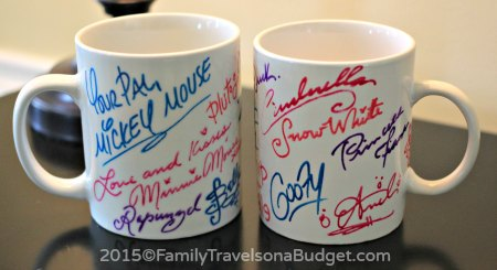 Disney Cruise Line mugs #ftoab