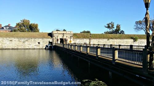 Fort Monroe Moat