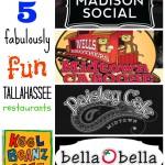 5 fabulously fun Tallahassee restaurants