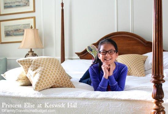 Ellie at Keswick Hall