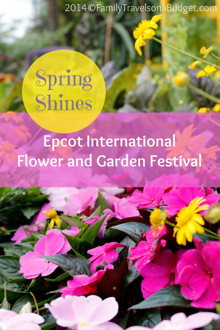 Spring Shines At Epcot International Flower And Garden Festival Family Travels On A Budget
