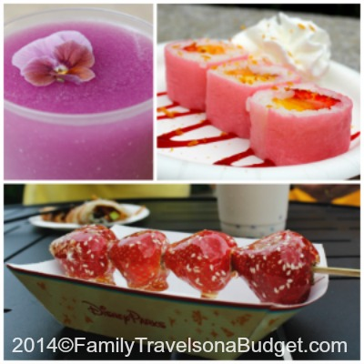 Epcot International Flower and Garden Festival Food