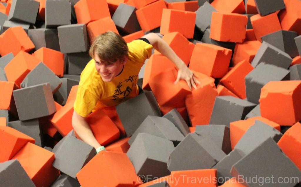 Jump Cville Foam Pit