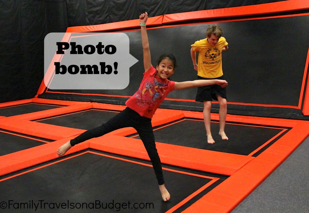 Jump Cville photo bomb