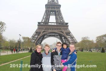 Paris journey