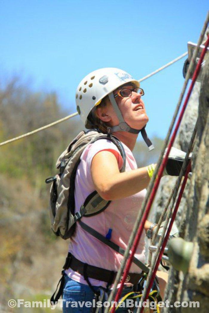Climbing in Los Cabos Mexico