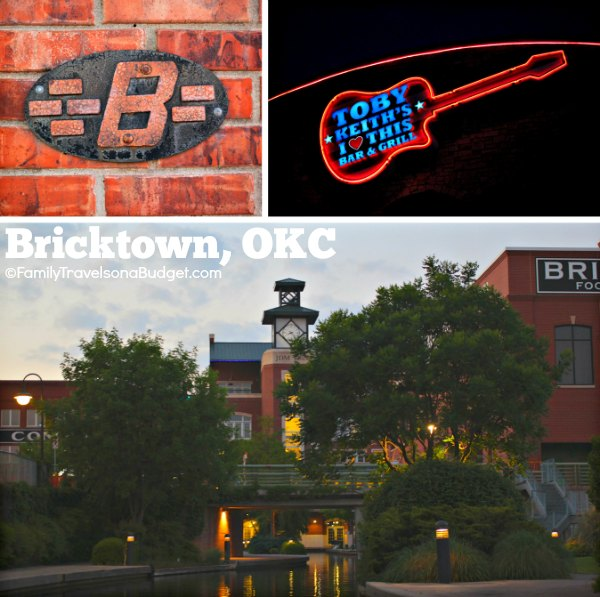 OKC, Bricktown District and canal