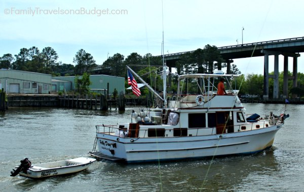 I am confident that we do NOT want a fishing boat!!!