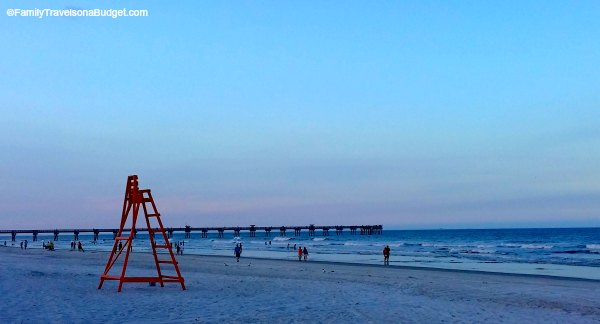 Jacksonville getaway a weekend itinerary for families for Jacksonville fishing pier