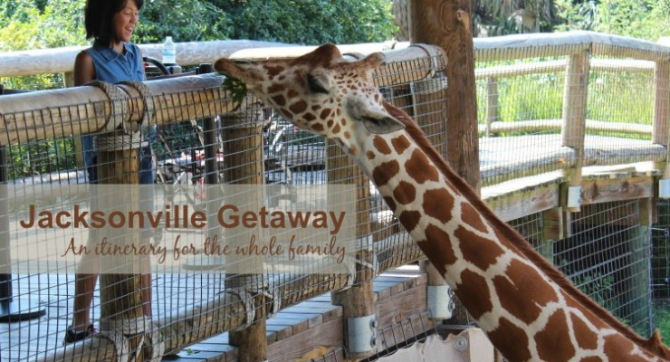 Jacksonville Getaway: A fun family weekend!