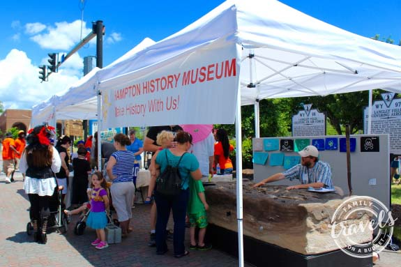 Hampton History Museum at Blackbeard Festival