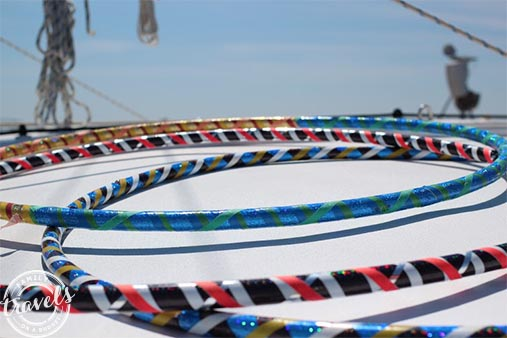 Sail Wild Hearts. Hula hoops for kids and kids at heart!