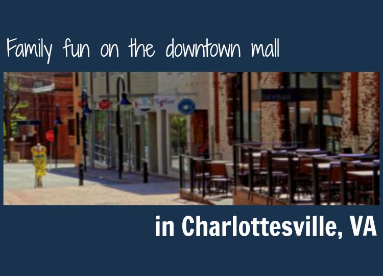 Downtown Mall in Charlottesville VA