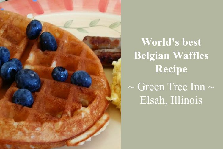 Belgian Waffles At The Green Tree Inn Family Travels On