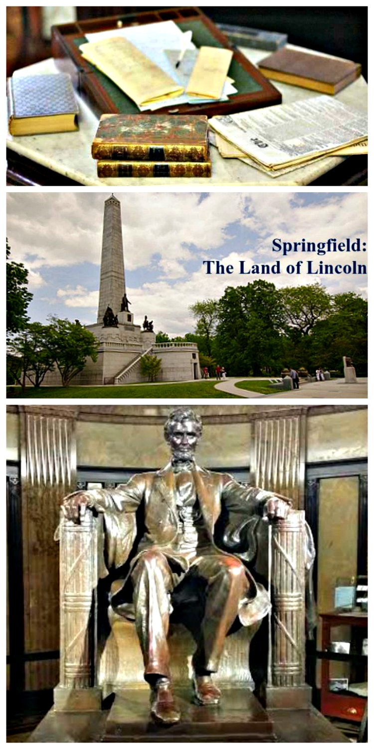Springfield, IL -- where Lincoln's legacy lives and we can learn.