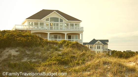 Outer Banks rental homes in Avon NC