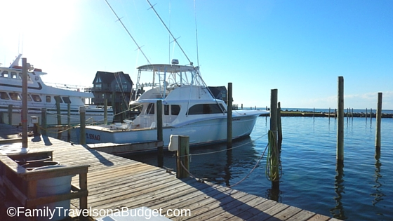 Outer Banks activities include fishing charters in Hatteras
