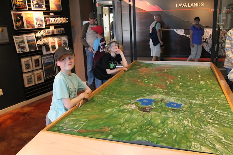 Lava Lands Visitor Center