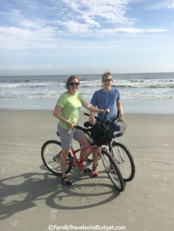 Hilton Head Vacation Beach Biking
